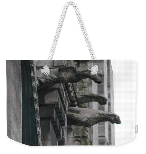 Row Of Gargoyles Weekender Tote Bag