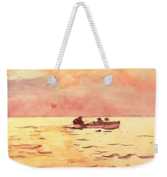 Rowing Home Weekender Tote Bag