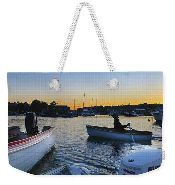 Rowing In Weekender Tote Bag