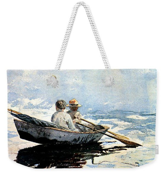 Rowing The Boat Weekender Tote Bag