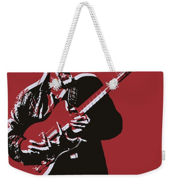 Roy Buchanan Pop Art Weekender Tote Bag