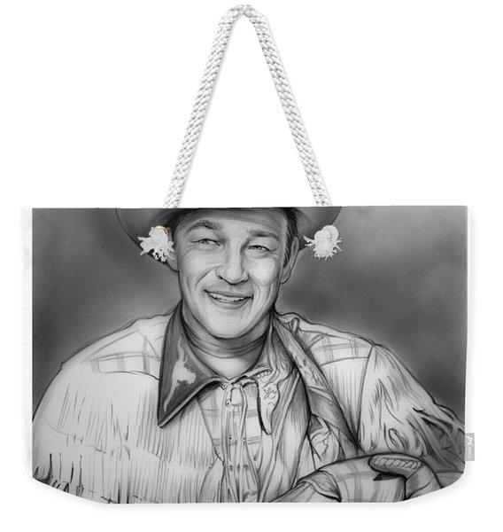 Roy Rogers Weekender Tote Bag