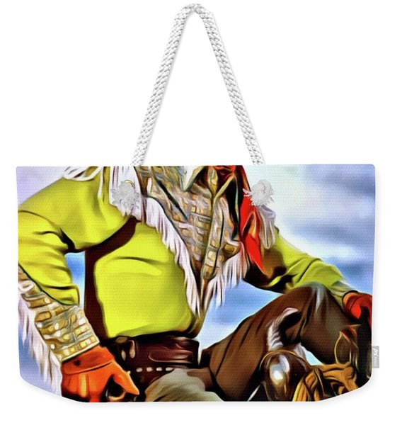 Roy Rogers, Hollywood Legend Weekender Tote Bag