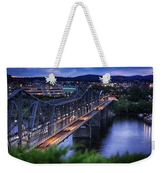 Royal Alexandra Interprovincial Bridge Weekender Tote Bag