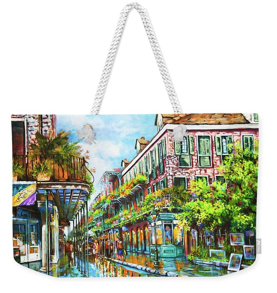 Royal At Pere Antoine Alley, New Orleans French Quarter Weekender Tote Bag