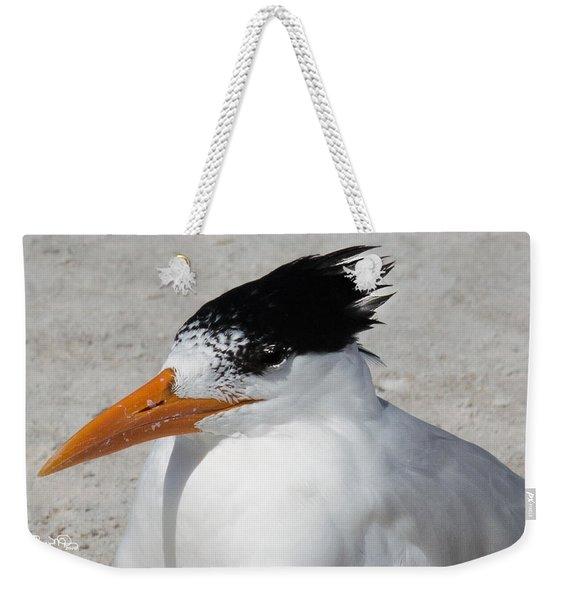 Royal Bad Hair Day Weekender Tote Bag