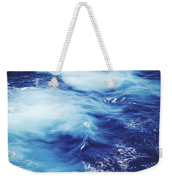 Royal Blue Weekender Tote Bag