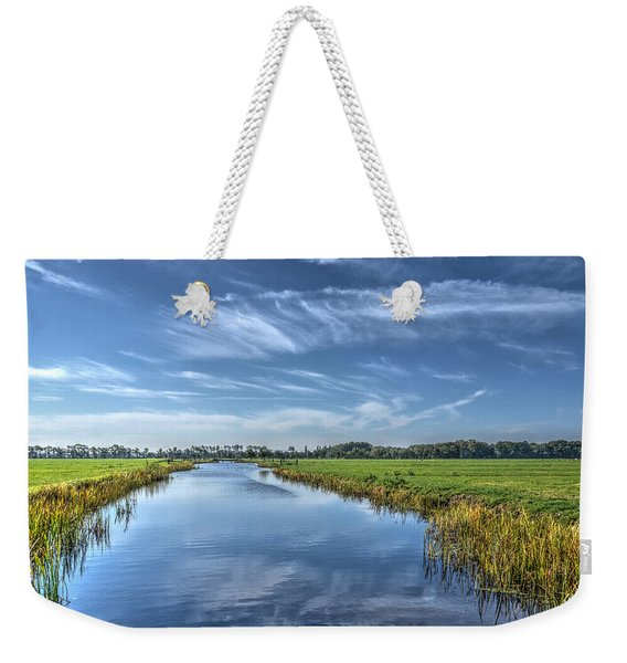 Royal Canal And Grasslands Weekender Tote Bag