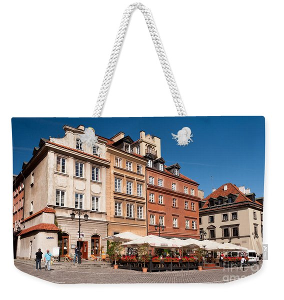 Royal Castle Square Architecture Weekender Tote Bag