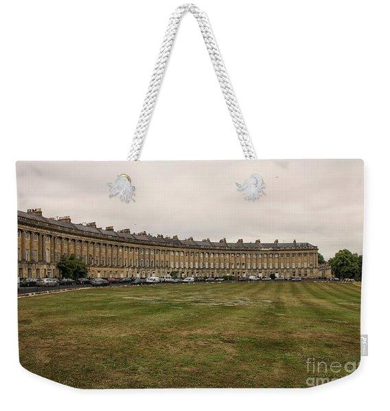 Royal Crescent In Bath Weekender Tote Bag