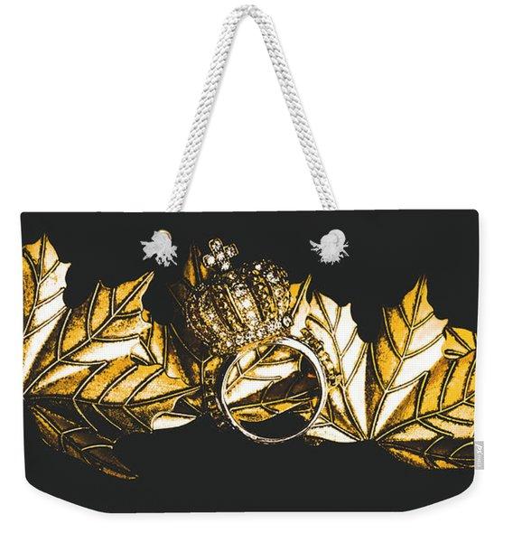 Royal Crown Jewels Weekender Tote Bag