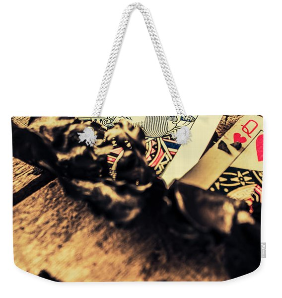 Royal Flush Weekender Tote Bag