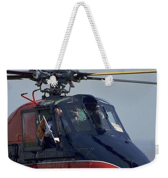 Royal Helicopter Weekender Tote Bag