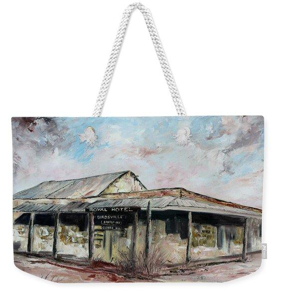 Royal Hotel, Birdsville Weekender Tote Bag
