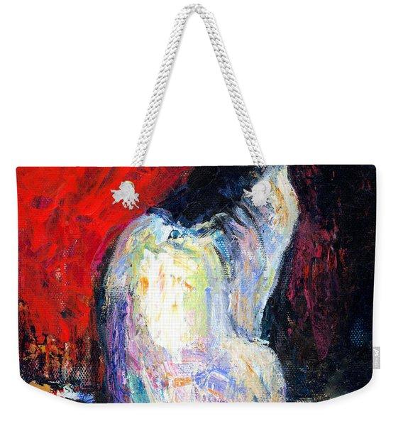 Royal Sphynx Cat Painting Weekender Tote Bag