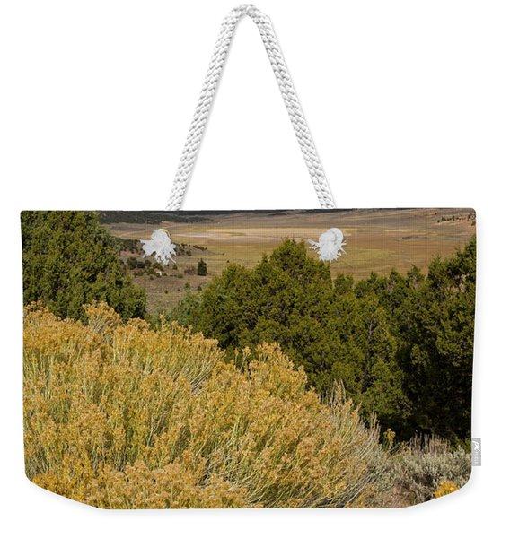 Rt 72 Utah Weekender Tote Bag