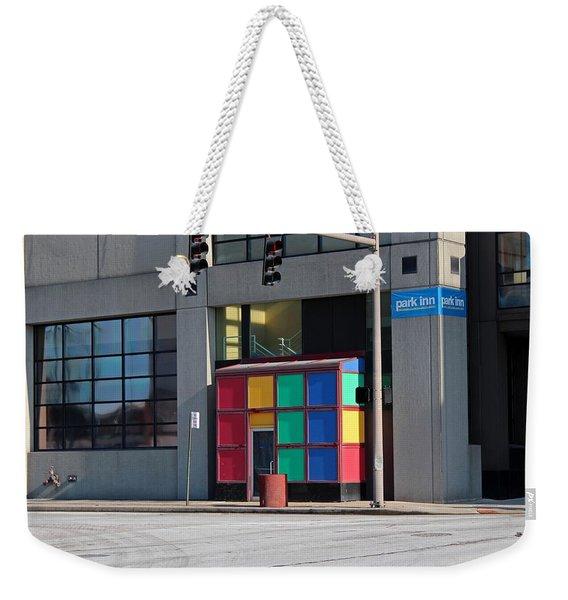 Rubik Shelter Weekender Tote Bag