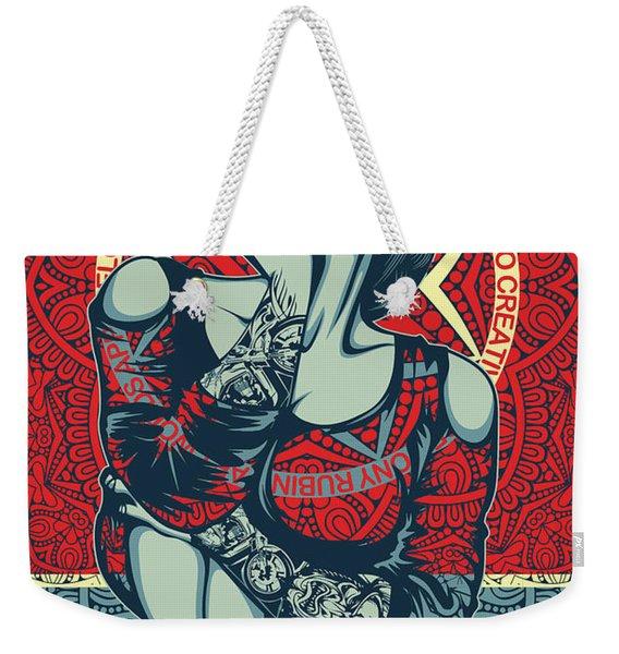 Rubino Mandala Woman Cool Weekender Tote Bag