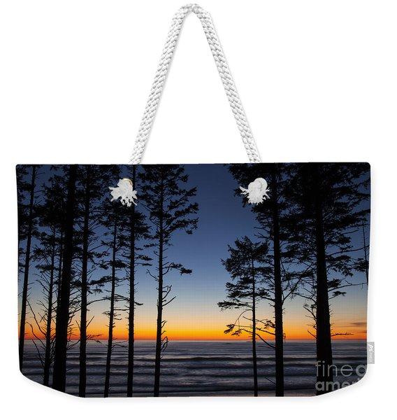 Ruby Beach Trees #4 Weekender Tote Bag