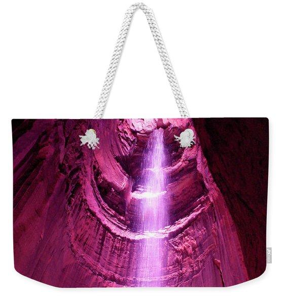 Ruby Falls Waterfall 5 Weekender Tote Bag