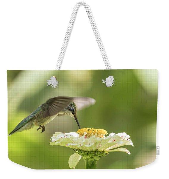 Ruby Throated Hummingbird 2016-8 Weekender Tote Bag