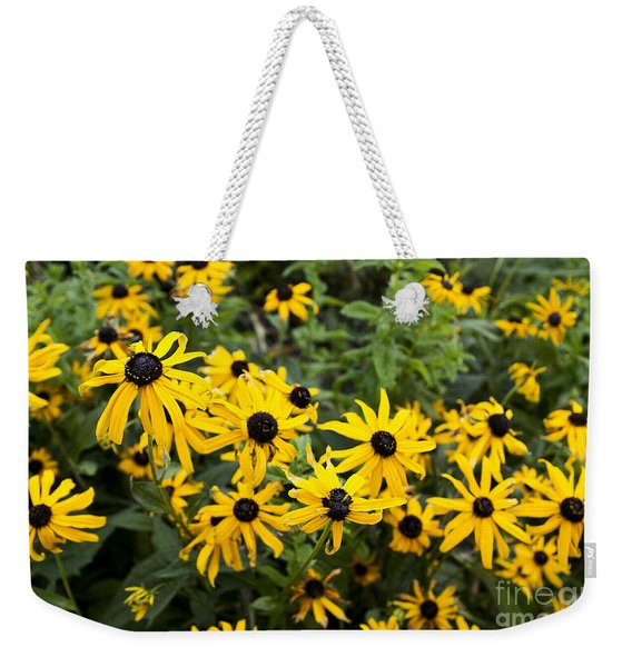 Rudbeckia Aka Black-eyed Susan Weekender Tote Bag