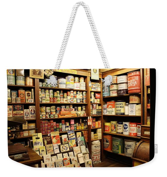 Ruddy's 1930 General Store Weekender Tote Bag