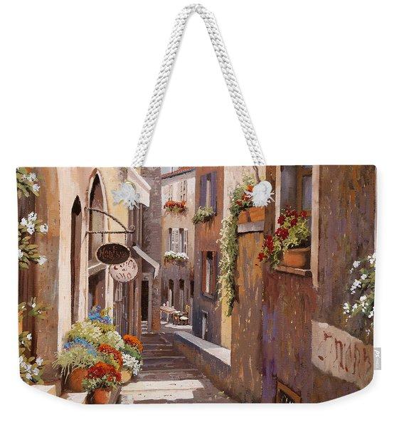 Rue Du Bresc In St Paul De Vence Weekender Tote Bag