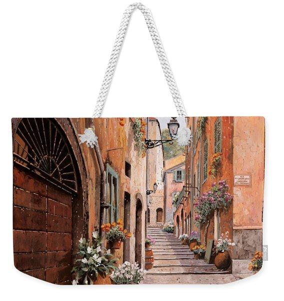 rue Malonat in  Nice  Weekender Tote Bag