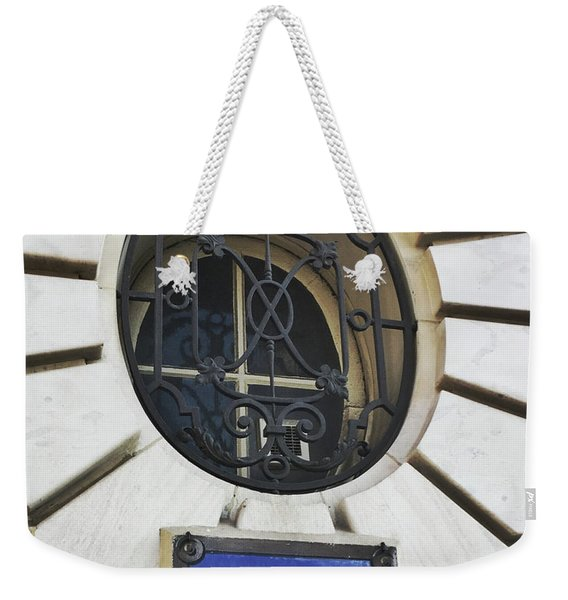 Weekender Tote Bag featuring the photograph Rue Rude, Paris by Frank DiMarco