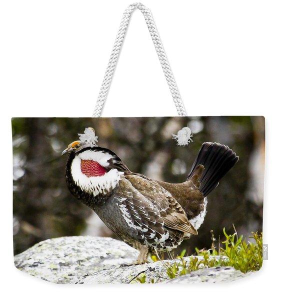 Ruffled Grouse II Weekender Tote Bag