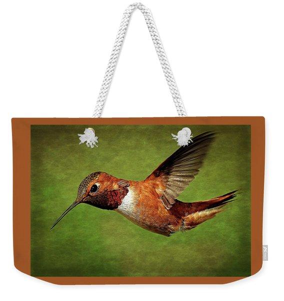 Rufous Portrait Weekender Tote Bag