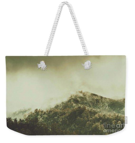 Rugged Atmosphere Weekender Tote Bag