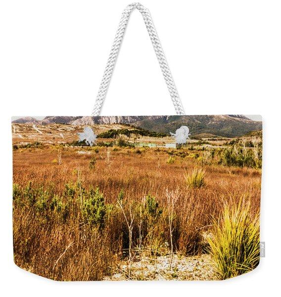Rugged Australian Bushland Weekender Tote Bag