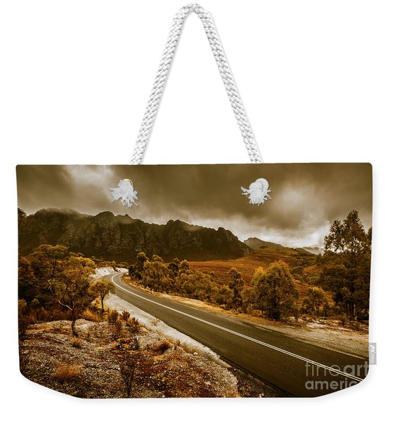 Rugged Rural Retreats Weekender Tote Bag