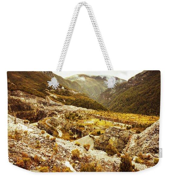 Rugged Valley Wilderness Weekender Tote Bag