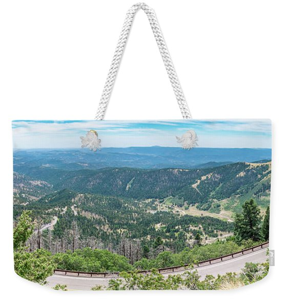 Ruidoso, Nm Panoramic Weekender Tote Bag
