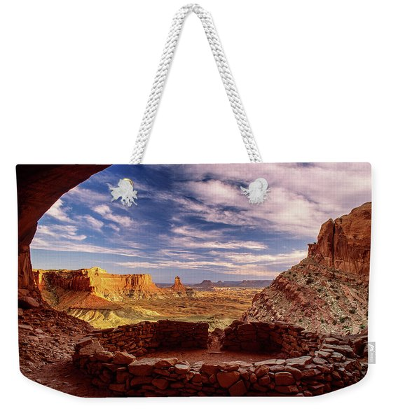 Ruin With A View Weekender Tote Bag