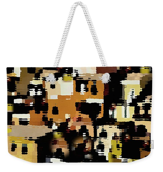 Ruins, An Abstract Weekender Tote Bag