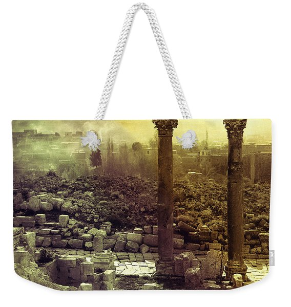 Ruins Of Jurash Weekender Tote Bag