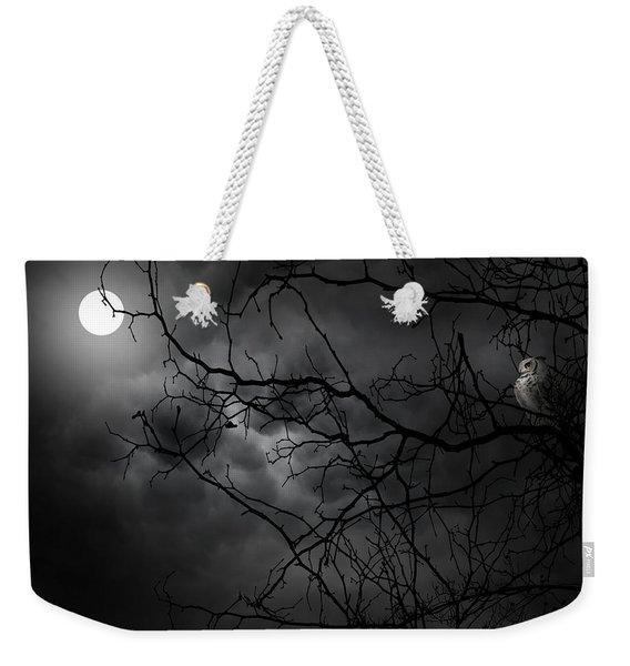 Ruler Of The Night Weekender Tote Bag