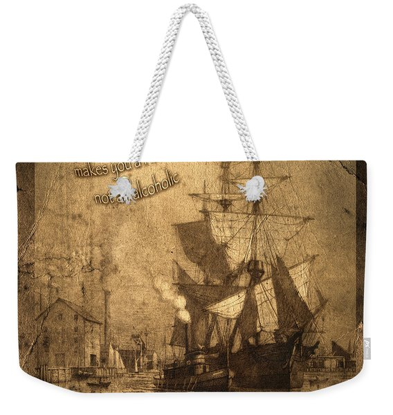 Rum Is The Reason Weekender Tote Bag