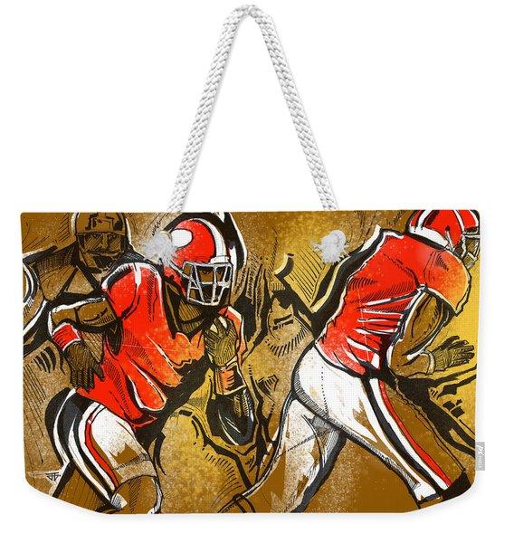 Run It Weekender Tote Bag