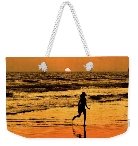 Run To The Sun Weekender Tote Bag