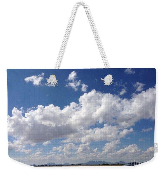 Running Hills Weekender Tote Bag