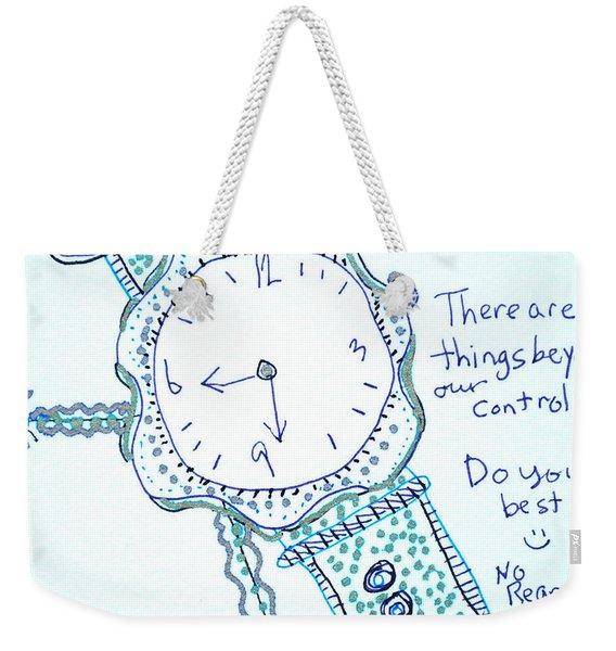 On Time Weekender Tote Bag