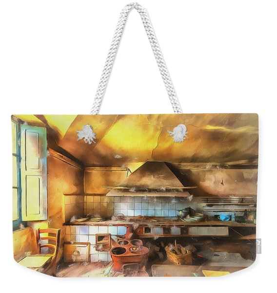 Rural Culinary Atmosphere Nr 2 - Atmosfera Culinaria Rurale IIi Paint Weekender Tote Bag