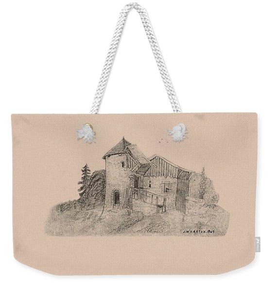 Rural English Dwelling Weekender Tote Bag
