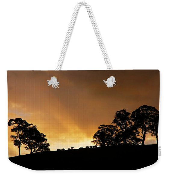Rural Glory Weekender Tote Bag
