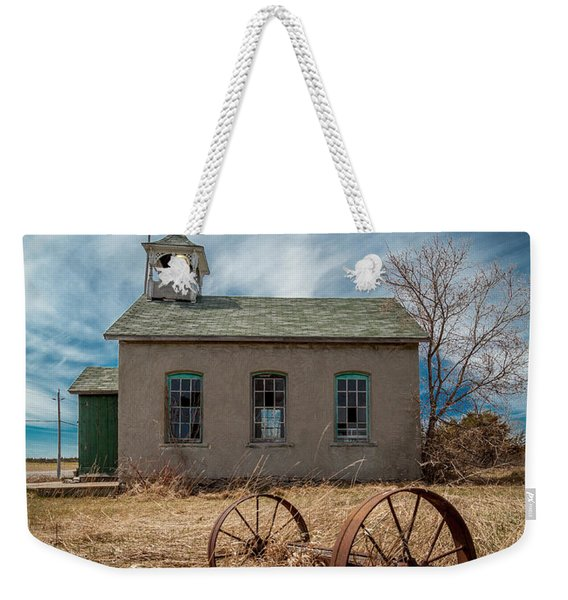 Rural School Weekender Tote Bag